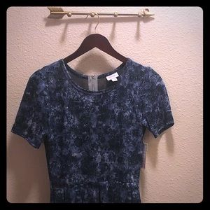 Lularoe New with Tags vintage inspired blue dress